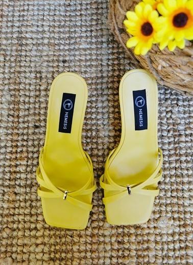 Nemesis Shoes Terlik Sarı